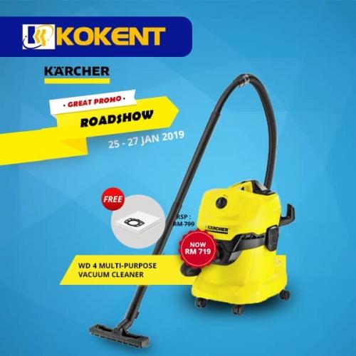 WD 4 multi-purpose vacuum cleaner
