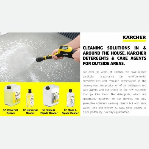 Floor shampoo