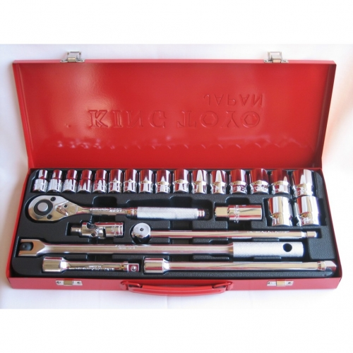 KING TOYO 12 POINT SOCKET SET 1/2