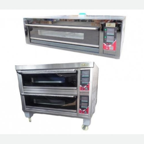 HTG Series GAS / The series electric oven (II)