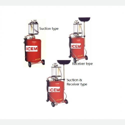 Pneumatic Waste Oil Extractor (Suction/Receiver Type) (II)