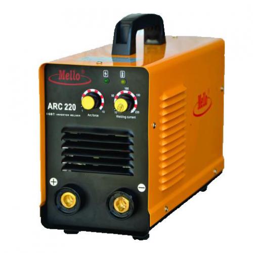 MELLO ARC Inverter Welding Machine (IGBT) 20-220A, 9kg ARC220