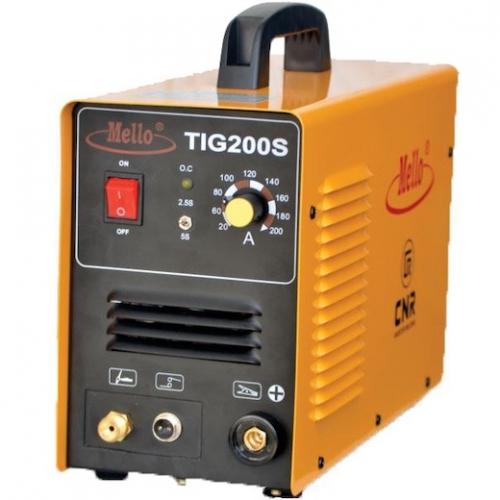 Mello Inverter TIG Welding Machine 10-215Amp, 9kg TIG250A