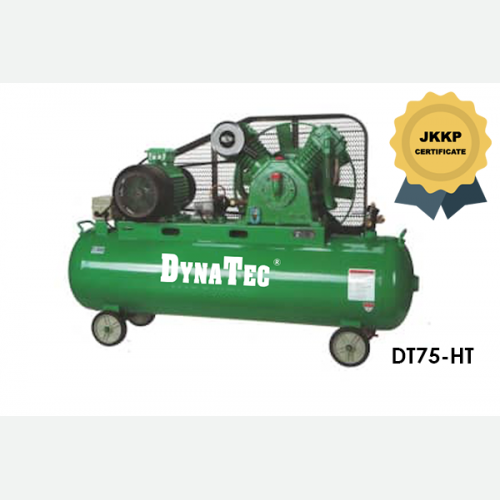 DYNATEC BELT DRIVEN AIR COMPRESSOR ( WITH JKKP CERTIFICATE) DT-75HT