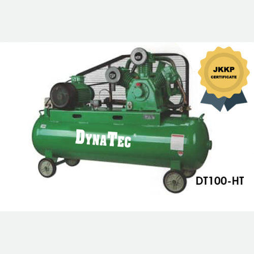 DYNATEC BELT DRIVEN AIR COMPRESSOR ( WITH JKKP CERTIFICATE) DT-100HT