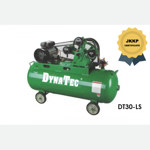 DYNATEC BELT DRIVEN AIR COMPRESSOR ( WITH JKKP CERTIFICATE) DT-30LS