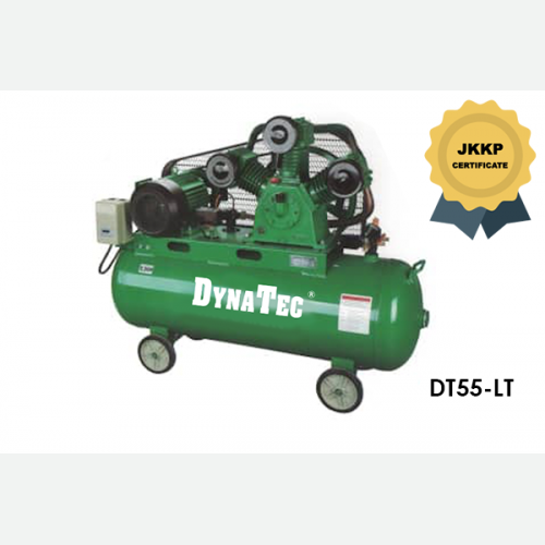 DYNATEC BELT DRIVEN AIR COMPRESSOR ( WITH JKKP CERTIFICATE) DT-55LT