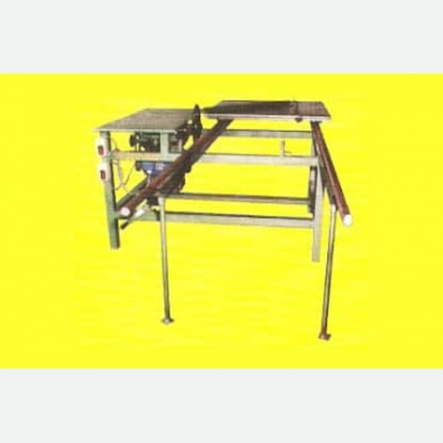 Sliding Table Circular Saw Machine With Scoring Unit
