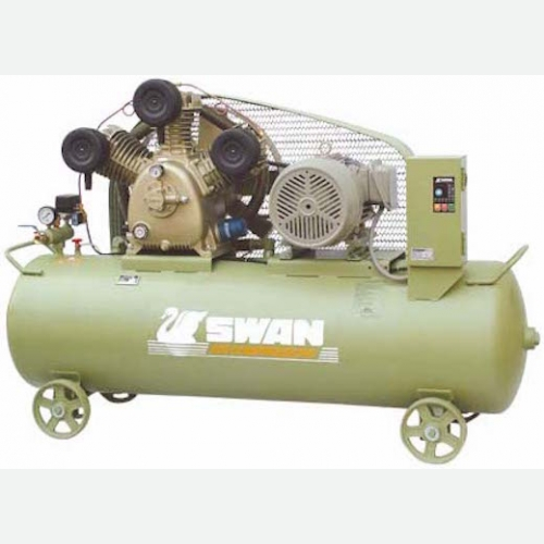 Swan Air Compressor 8Bar, 7.5Hp, 850rpm, 872/min, 230kg SWU-307N