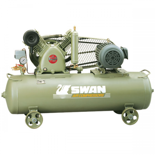 Swan Air Compressor 12Bar 3Hp 960rpm 270L/min 205kg HVP-203(1)