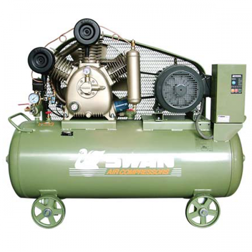 Swan Air Compressor 12Bar 7.5Hp 850rpm 606L/min 260kg HWU-307N