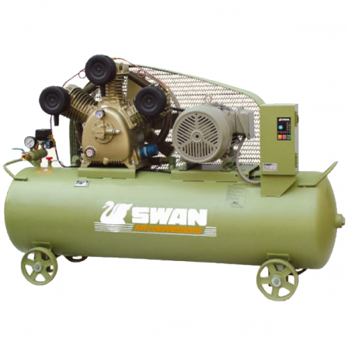 Swan Air Compressor 12Bar 10HP, 850rpm, 786L/min, 262kg HWU-310N