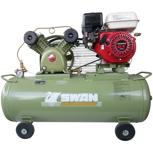 Swan Air Compressor 8Bar 5.5HP 900rpm 225L/min 75kg SVU-202E