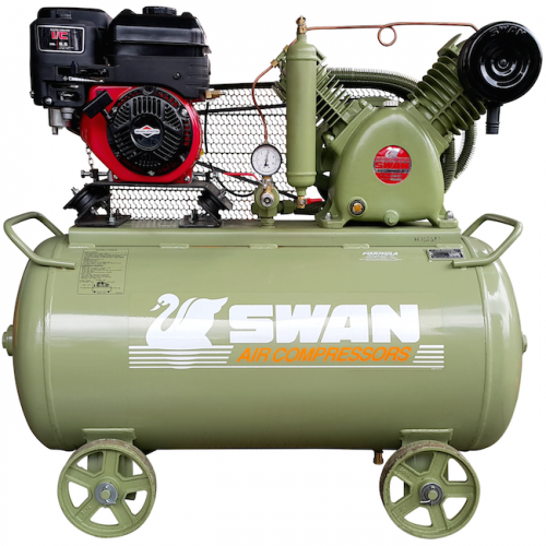 Swan Air Compressor 12Bar 6.5HP 900rpm 406L/min HVU-203E(B&S)