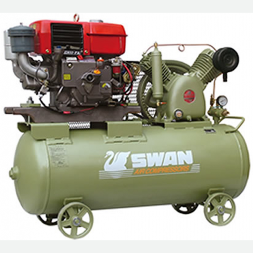 Swan Air Compressor 12Bar 10HP 900rpm 406L/min HVU-205E(L100N6)