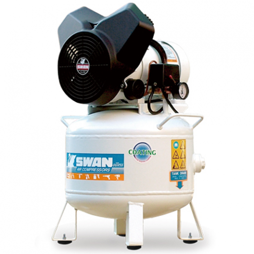 Swan OilLess Air Compressor 2hp 8Bar 138L/min 30L 45kg PV202-30L