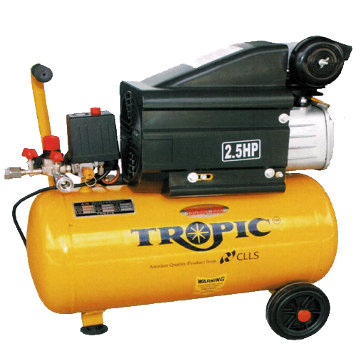 TROPIC Air Compressor 2.5HP, 4.24cfm, 24Liters, 27kg TAC-25(24L)