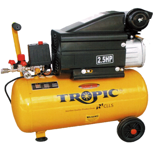 TROPIC Air Compressor 2.5HP, 4.24cfm, 35Liters, 32kg TAC-25(35L)