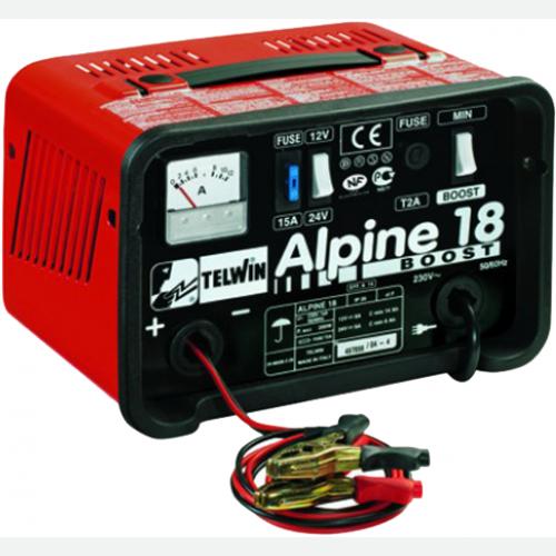 TELWIN Battery Charger 14/185(12V), 6/90(24V), 3.5kg Alpine18