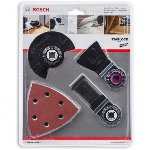 Bosch Accessories 13 Pcs (Expert For Wood & Paint) Universal Set For Multi-Tools