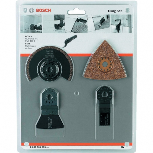 Bosch Accessories 4 Pcs (Expert For Tile) Universal Set For Multi-Tools