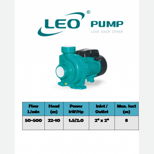 LEO [1G] ACM150B2 / AC150B2 CENTRIFUGAL PUMP