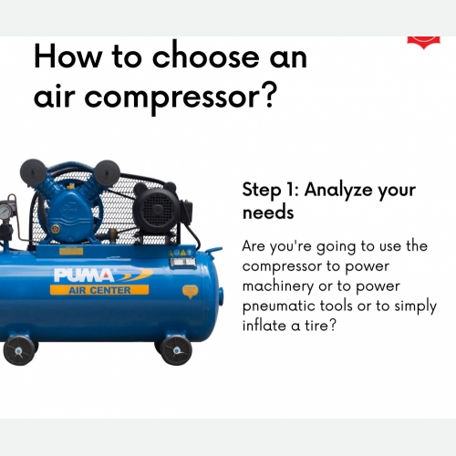 How To Choose Air Compressor Step 1