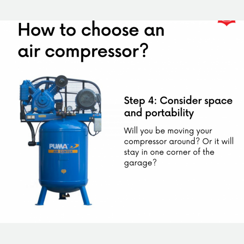 How To Choose Air Compressor Step 4