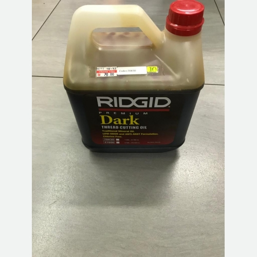 Ridgid Thread Cutting Oil 70830