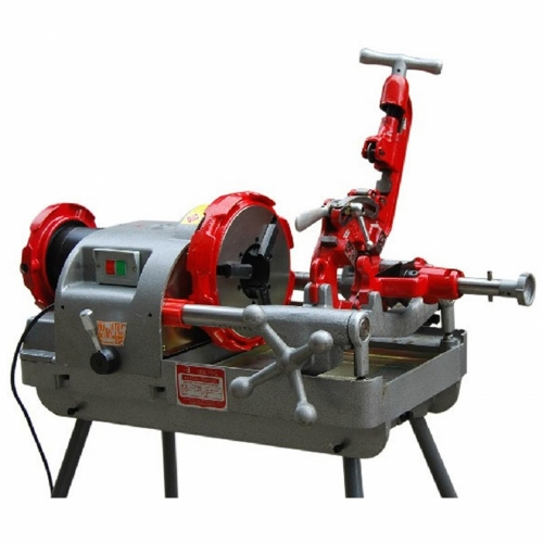 Qing Yang TQ80C: Pipe Threading Machine, Threading Size: 1/2″~3″, 11 & 23rpm, 750W, 95kg
