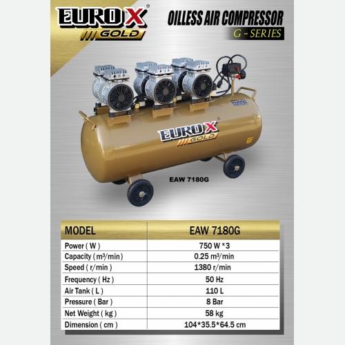 EURO X EAW 7180G (L) Unloading Belt Driven Air Com