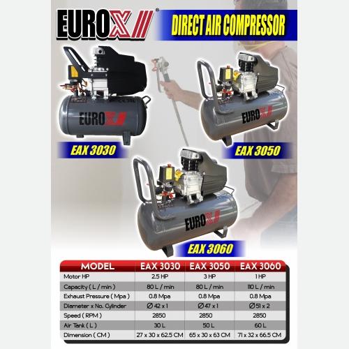 EURO X EAX 3030 3050 3060 Direct Air Compressor