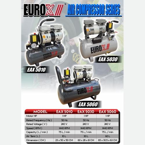 EUROX  EAX 5010 5030 5060 (L) AIR COMPRESSOR SERIES