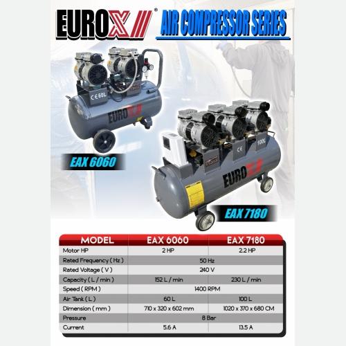 EUROX  EAX 6060  EAX 7180 (L) AIR COMPRESSOR SERIES