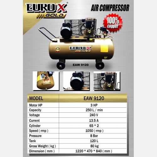 EUROX GOLD EAW 9120 (L) AIR COMPRESSOR