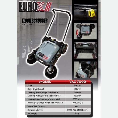 EUROX VAC 7000(FINAL) A FLOOR SCRUBBER