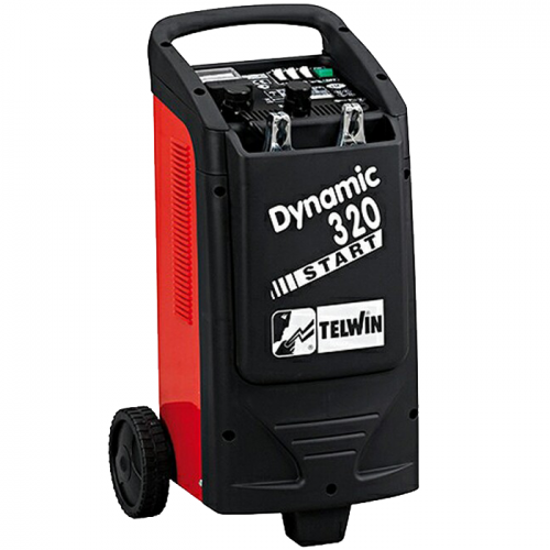 TELWIN Battery Charger 1kW-6.4kW 12/24V 14kg Dynamic320 Start