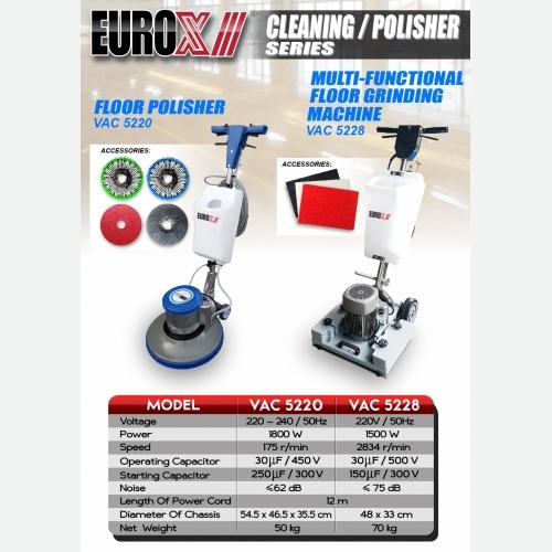 EUROX VAC SERIES (L) MULTI FUNCTIONAL FLOOR GRINDING MACHINE