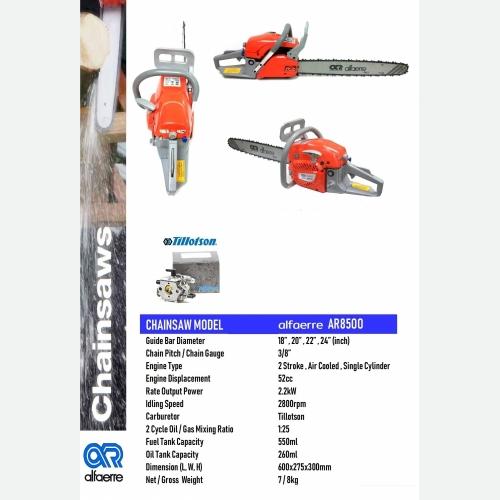 ALFARRE AR8500 CHAINSAW 18''