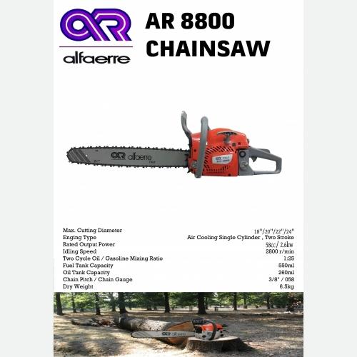 ALFARRE AR 8800 CHAINSAW