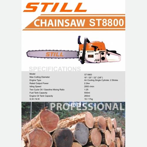 STILL ST8500 CHAINSAW