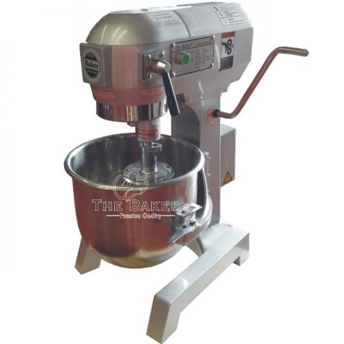 The Baker Flour Mixer 1100W, 3 speeds, 20L, 80kg B-20N