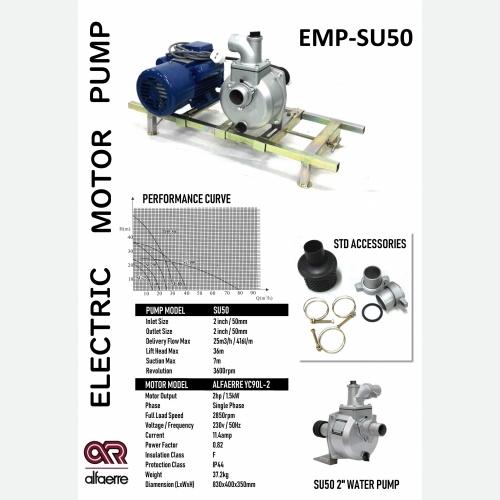 AR EMP-SU50 2'' ELEC MOTOR PUMP