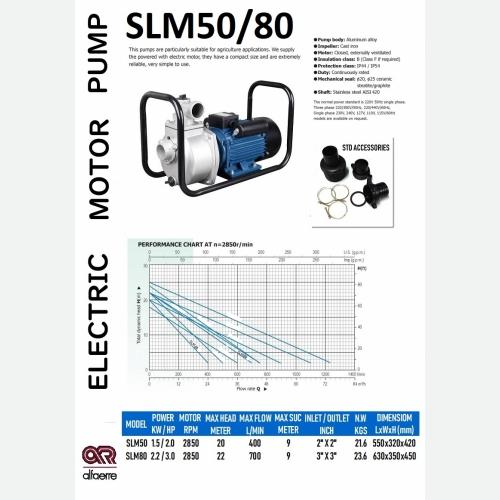 SLM MOTOR PUMP SLM50/80