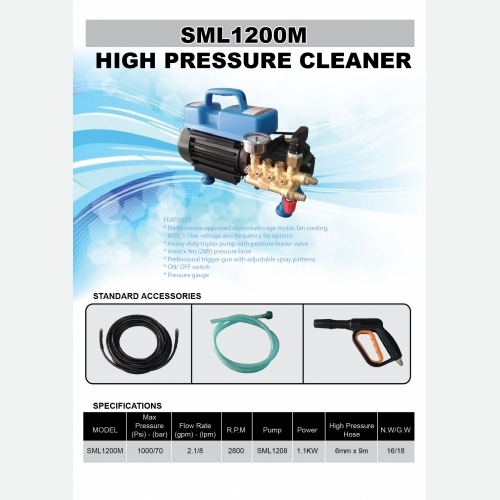 SML1200M High Pressure Cleaner