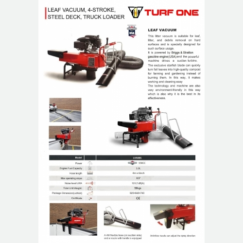 TURF ONE LV50K TRUCK LOADER