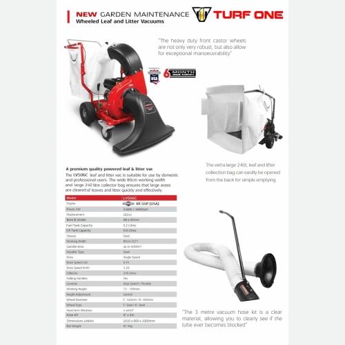 TURF ONE LV506 LEAF VACUUM