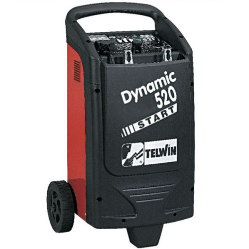 TELWIN Battery Charger 1.6kW-10kW 12/24V 25kg Dynamic520 Start