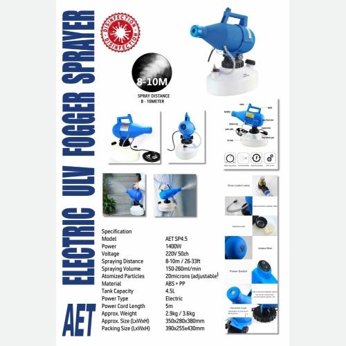 AET SP4-5 ELEC ULV FOGGER SPRAYER