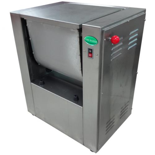 Baker Stainless Steel Flour Mixer 1.1kW, Mix:15kg, 85kg HWH-15